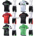 Team pro cycling jerseys BIB set men UCI peloton gel padded bib short sleeves