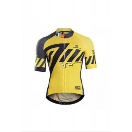 Monton Mens Yellow Cycling Jersey Pro Revelation