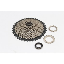 Sunshine Cassette 10 Speed 11 speed 10s 11s 11-42t silver black | Sunrace Shimano