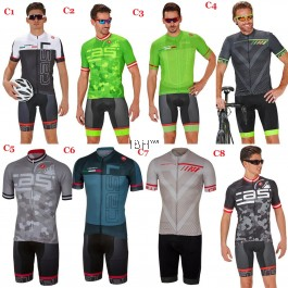 2017 CASTELLI short sleeve jersey padding shorts bib Spunto Set (2 pieces)  REP