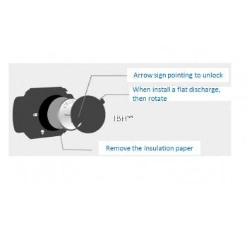 Magene Gemini 210 S3+ ANT+ & Bluetooth Speed & Cadence Sensor Compatible Garmin, Bryton, Igpsport Zwift, Onelap