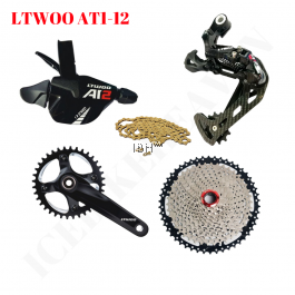 LTWOO ZRACE 1X12S AT 12 Speed 52T 6 in 1 Shifter Lever Right Rear Derailleur MTB Mountain Bike Fat Bike Compatible EAGLE 12s